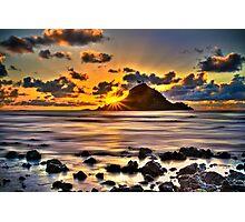 First Light on Hana, Maui Photographic Print