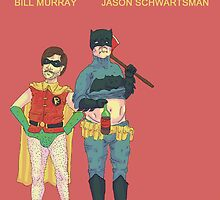 Batman & Robin Directed by Wes Anderson by atomina