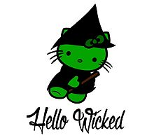 Hello Wicked by AllMadDesigns