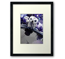 The Overcomer Framed Print