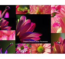 PINK Collection for the Cure - Collage  Photographic Print