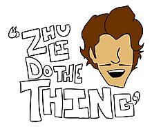 Zhu Li Do The Thing! Photographic Print
