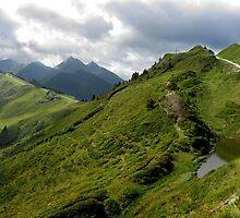 Walking the Alps by Kelly Carmody