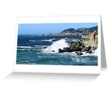#578    Coastline Of Sonoma California Greeting Card
