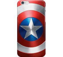 captain america - sheild iPhone Case/Skin