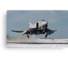 Phantom FGR.2 XV466/E taking-off at Stanley Canvas Print