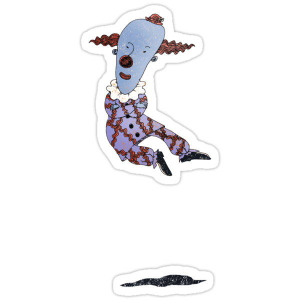 Levitating Clown by SusanSanford