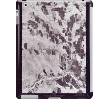 Maine USGS Historical Map Caribou SW 806594 1975 24000 Inversion iPad Case/Skin