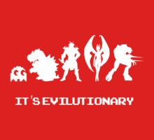 It's Evilutionary (with text) Kids Clothes