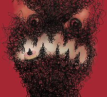 Scribble monster for Peri Toth by Gemma Amendola