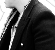 Harry's Man Bun Sticker