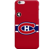 Montreal Canadiens - 2014-15 Jersey - red iPhone Case/Skin