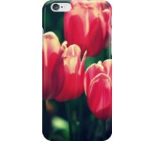 Volumptuous Tulips By Lorraine McCarthy iPhone Case/Skin
