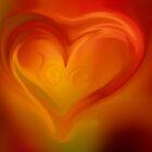 Love on fire  by Nicole  Markmann Nelson