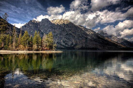 Jenny Lake at Grand Tetons I by steini