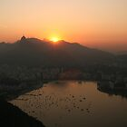 Sunset Over Rio by azzatravers