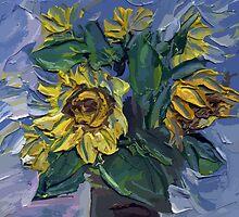 Sunflower by Rif Khasanov