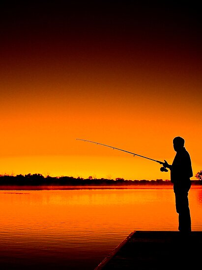 River Fishing by Ryan Carter