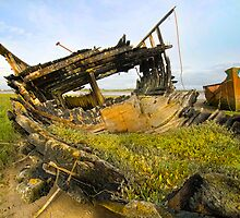 Old Fishing baot Wrecks 2 by eddiej