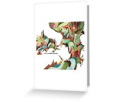 NUJABES METAPHORICAL MUSIC R.I.P Greeting Card