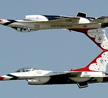 Thunderbirds - USAF US Air Force Display Team - Great aviation photo by verypeculiar