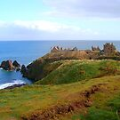 Dunnottar Caslte from the path by wildrose1723