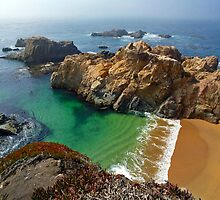 California Coastal Beach by Mark Ramstead
