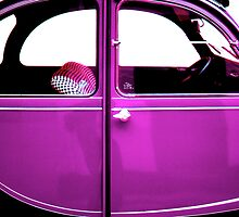 2CV Purple by Daniel Sorine