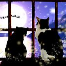 Waiting for Santa by Angela Harburn