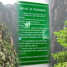China Signs 10 Cable Car at Huang Shan by Keith Richardson