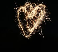 SPARKLERS WITH HEART by Linda111