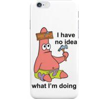 No Idea Patrick iPhone Case/Skin