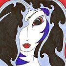 Blue : A Vampire by gypsycaster