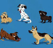 Dog buddies by stephasocks