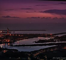 steelworks dock port talbot by zacco