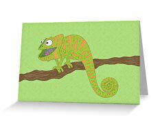 Karma the Chameleon! Greeting Card