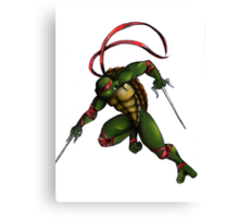 Raph Attack! Canvas Print