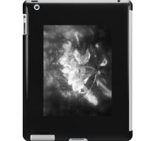 apple blossoms #3, black and white iPad Case/Skin