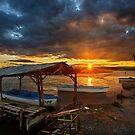 Sunset at the Delta of Aliakmonas by Hercules Milas