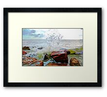 Quintana Jetty Framed Print