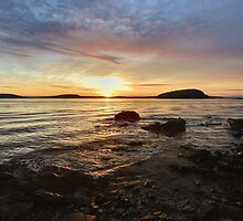 Bar Harbor Sunrise by Stephen Vecchiotti