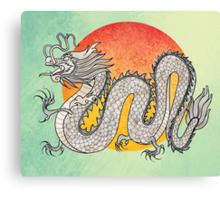 Champagne Dragon Canvas Print