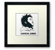 Capital Steez Framed Print