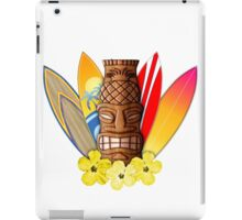 Surfboards And Tikis iPad Case/Skin