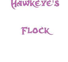 Hawkeye's Flock by HeatherVJones
