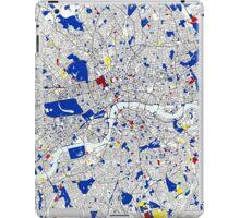 London Piet Mondrian Style City Street Map Art iPad Case/Skin