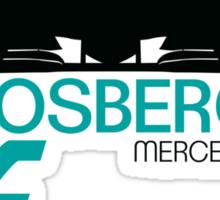 Nico Rosberg 2015 Sticker