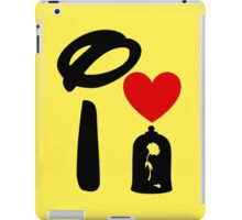 I Heart Beauty and The Beast iPad Case/Skin