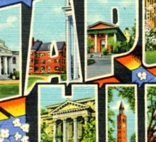 Greetings From Chapel Hill Sticker