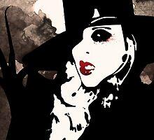 Maria Brink - Black Widow ITM by Henry-Phillips